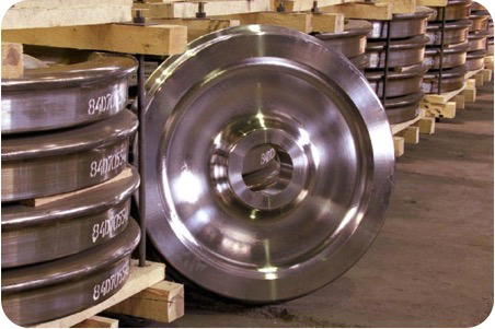 H-36 freight car wheel